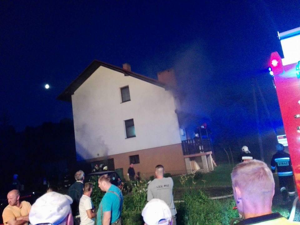 Pożar Domu mieszkalnego – Żabnica