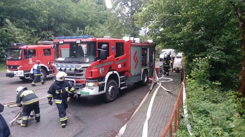 Ćwiczenia 16 Kompani Wojewódzkiego Odwodu Operacyjnego w Międzybrodziu Bialskim